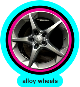 alloy wheel refurbisment